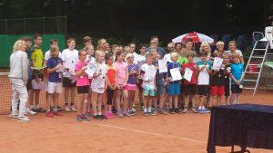 Strahlende Teilnehmer beim Wilczok-Pokal.