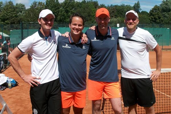 Christian Müller und Christian Schmitke gewannen das Finale bei den Herren der offenen Klasse.