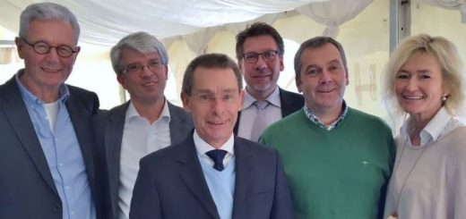 Das Vorstandsteam des TV Blau-Weiß Bottrop